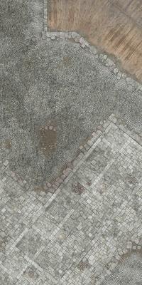 6'x3' G-Mat: Medieval Town