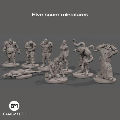 Hive Scum set 3D file