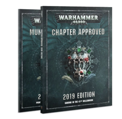 WH40K: CHAPTER APPROVED 2019 ENG