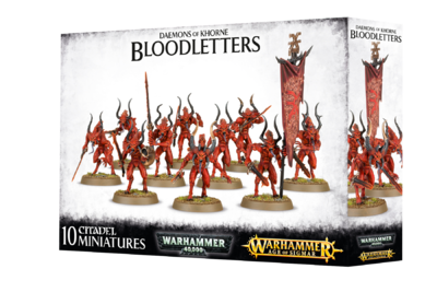 DAEMONS OF KHORNE BLOODLETTERS.