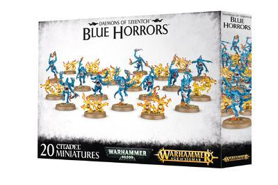 DAEMONS OF TZEENTCH BLUE HORRORS