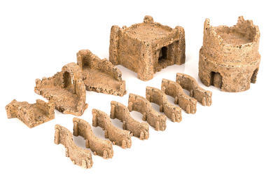 Desert Houses Set.