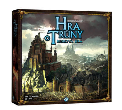 Hra o Trůny - desková hra