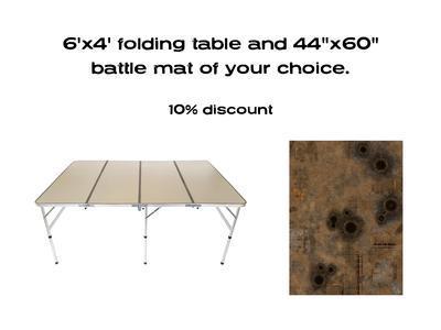 """6'x4' G-Board Deal: including 44""""x60"""" mat -10%"""