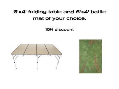 6'x4' G-Board Deal: including 6'x4' mat -10%
