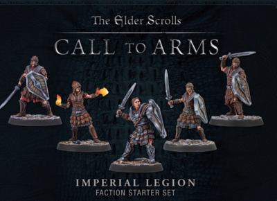 Elder Scrolls: Call to Arms - Imperial Legion Set (Plastic)