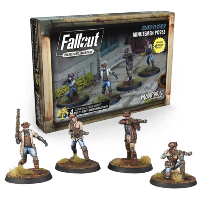 Fallout: WW Survivors Minutemen Posse