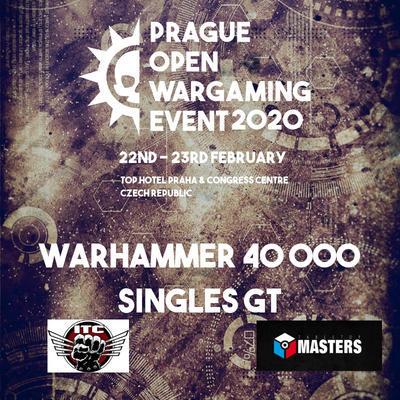 Warhammer 40k Singles GT 2020 pass