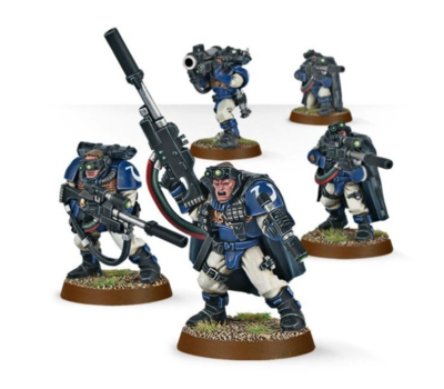 SPACE MARINES SCOUTS.