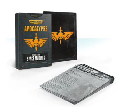 APOC. DATASHEETS: SPACE MARINES