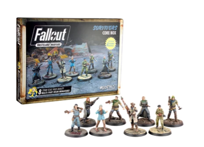 Fallout: WW Survivors Core Box