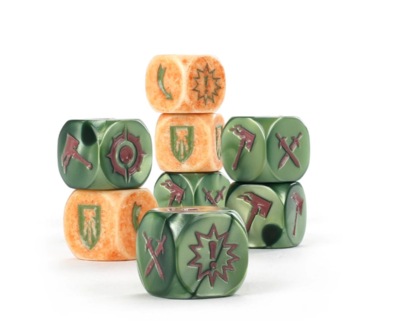 WHU: THE WURMSPAT DICE SET