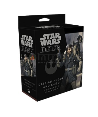 Star Wars Legion:CASSIAN ANDOR and K-2SO Commander Expansion