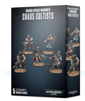 ETB: CHAOS SPACE MARINES CHAOS CULTISTS