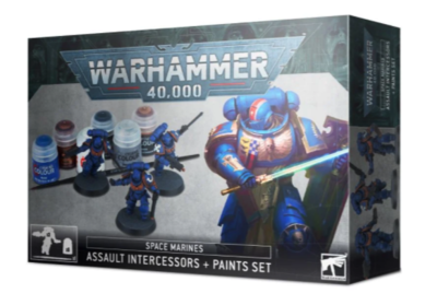 SPACE MARINES PAINT SET