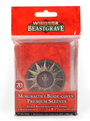 WHU: MORGWAETH'S BLADE-COVEN CRD SLEEVES