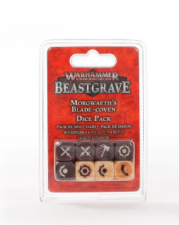 WHU: MORGWAETH'S BLADE-COVEN DICE PACK