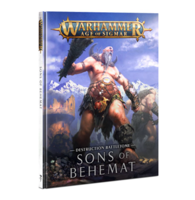 BATTLETOME: SONS OF BEHEMAT (HB) (ENG)