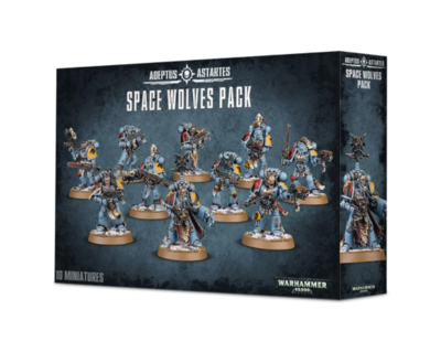 Space Wolves Pack Grey Hunters