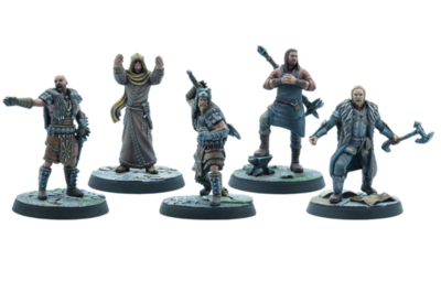 Elder Scrolls: Call to Arms - Stormcloak Chieftains Exp (Resin)