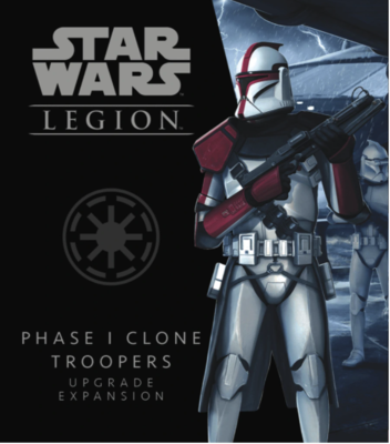 Star Wars Legion: Phase I Clone Troopers Upgrade Exp.