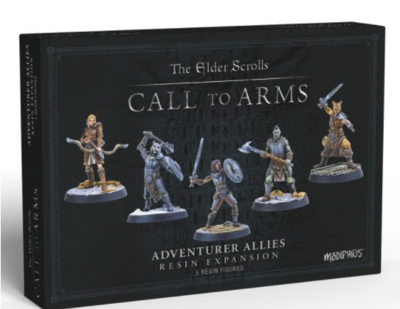 Elder Scrolls: Call to Arms - Adventurer Allies (Resin)