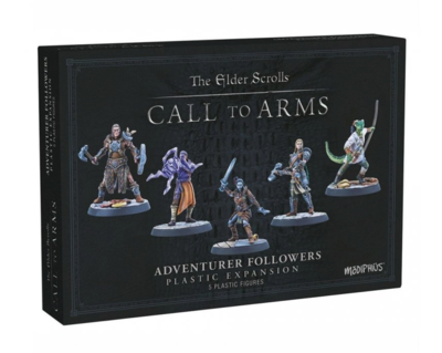 The Elder Scrolls: Call to Arms - Adventurer Followers (Resin)