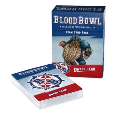 BLOOD BOWL: DWARF TEAM CARD PACK.