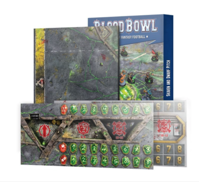 BLOOD BOWL: SKAVEN & DWARF PITCH.