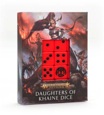 DAUGHTERS OF KHAINE DICE SET