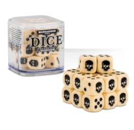 Dice Cube Bone