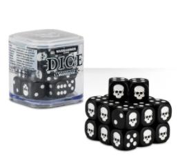 Dice Cube Black.