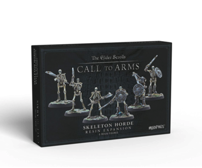 The Elder Scrolls: Call to Arms - Skeleton Horde Resin Expansion