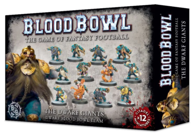 BLOOD BOWL DWARF TEAM