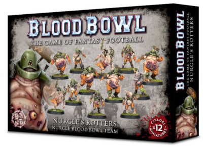 BLOOD BOWL NURGLE TEAM