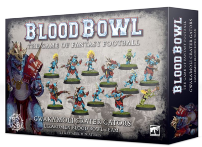 BLOOD BOWL LIZARDMEN TEAM