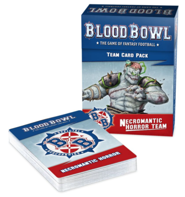 BLOOD BOWL: NECROMANTIC TEAM CARDS ENG