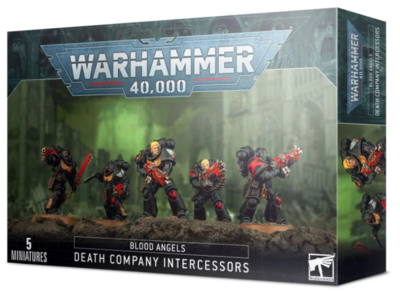 BLOOD ANGELS: DEATH COMPANY INTERCESSORS