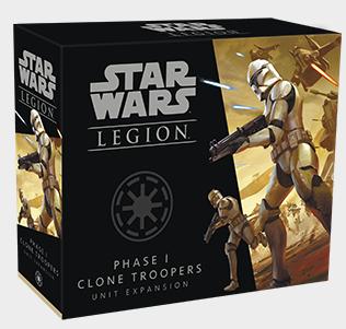 Star Wars Legion: Phase I Clone Troopers Unit Expansion - EN