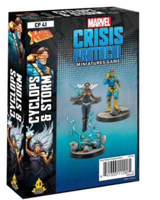 Marvel Crisis Protocol: Storm and Cyclops - EN