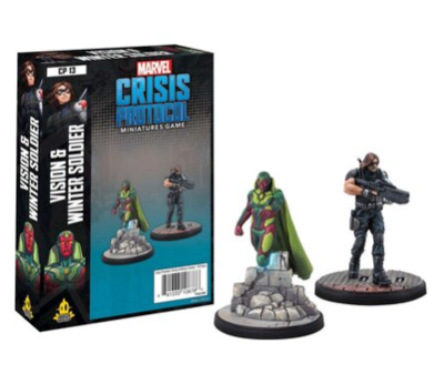 Marvel Crisis Protocol: Vision and Winter Soldier - EN