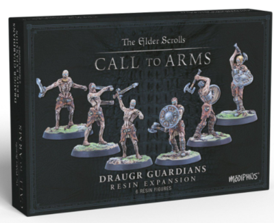 Elder Scrolls: Call to Arms - Draugr Guardians Resin Expansion