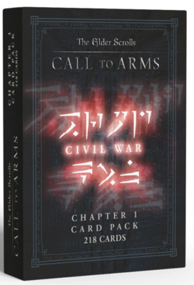 Elder Scrolls: Call To Arms, Chapter 1 Card Pack: Civil War