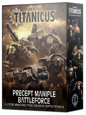 ADEPTUS TITANICUS: PRECEPT MANIPLE BATTLEFORCE
