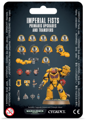 IMPERIAL FISTS: PRIMARIS UPGRADES