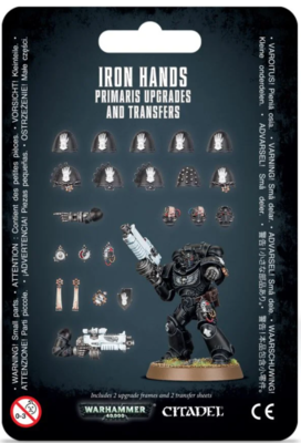 IRON HANDS: PRIMARIS UPGRADES
