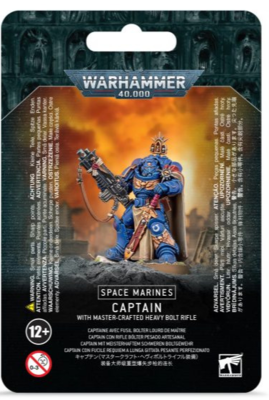 Space Marines CAPTAIN W/ MASTER-CRAFTED BOLT RIFLE