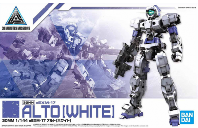 30 Minutes Missions - 30MM 1/144 eEMX-17 ALTO [WHITE]
