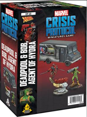 Marvel Crisis Protocol: Deadpool & Bob, Agent of Hydra - EN
