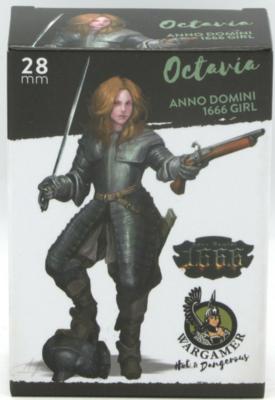 Octavia, Anno Domini 1666 girl (28 mm)